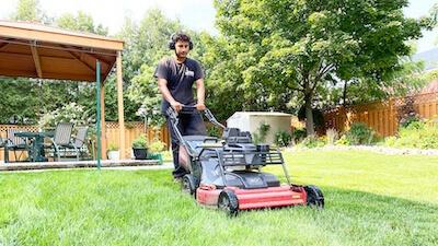 Lawn Cutting Icon