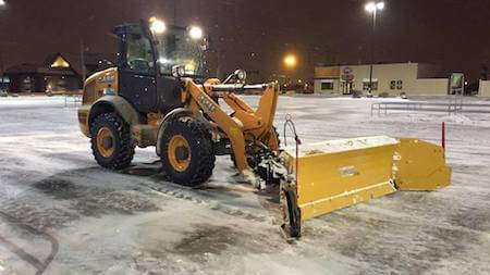 Case Commercial Snow Plowing