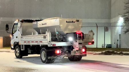 Commercial Snow Removal Salting