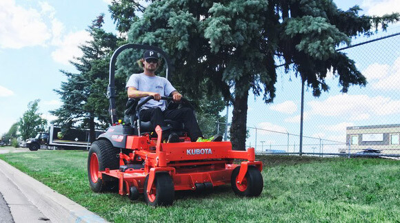 Commercial Property Maintenance-lawn cutting Image