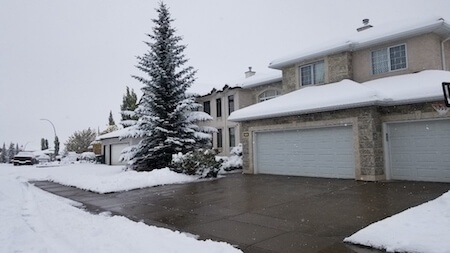 Residential property maintenance-snow removal Icon
