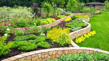 Residential property maintenance-landscaping Icon