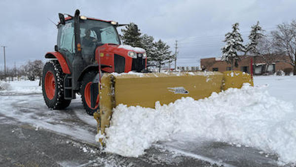 Commercial Property Maintenance - Snow Removal